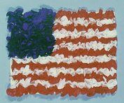 Hygloss Products, Inc. American Flag Tissue Paper Kit, 14cm x 22cm , 10 Sets