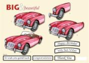 Ecstasy Crafts Craft Uk B & B Classic Car Red