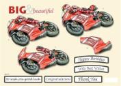 Ecstasy Crafts Craft Uk B & B Red Speed Bike