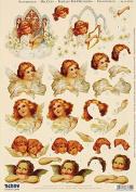 Victorian Angels & Cherubs Papier Tole