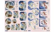 Ecstasy Crafts Snowmen - 2 Sheets