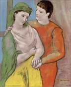 Picasso Young Lovers Paper Tole 3D Kit 8x10