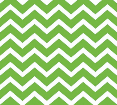 Green Chevron Print (60cm X 100') Clear Cellophane Roll