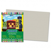 Riverside - Construction Paper, 76 lb., 30cm x 46cm , 25/PK, Grey, Sold as 1 Package, PAC 103632