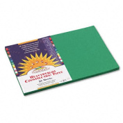 SunWorks : SunWorks Construction Paper, Heavyweight, 12 x 18, Holiday Green, 50 Sheets -:- Sold as 2 Packs of - 25 - / - Total of 50 Each
