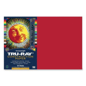 Tru-Ray Construction Paper - 46cm x 30cm - Holiday Red