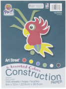 Art Street Art Street Construction Paper, 300 Sheets