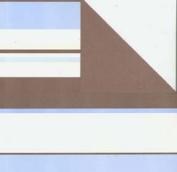 Making Memories 12x12 Cosmopolitan Paper-Handbag Stripe Blue