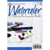 Essentials Watercolour Artist Paper Pad 13cm x 18cm -15 Sheets