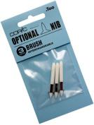 Copic Markers Brush Nib, 3-Pack