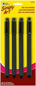 Simply Art Fine Line Markers, 4-Count