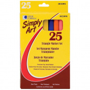 Loew Cornell 1021091 Simply Art Triangle Markers