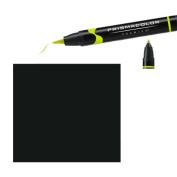 Prismacolor Premier Double-Ended Brush Tip Markers jet black 211