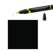Prismacolor Premier Double-Ended Brush Tip Markers black 098