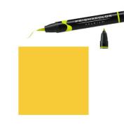Prismacolor Premier Double-Ended Brush Tip Markers yellow ochre 018
