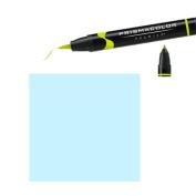 Prismacolor Premier Double-Ended Brush Tip Markers light cerulean blue 048