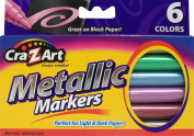 Cra-Z-art Metallic Markers, 6-Count