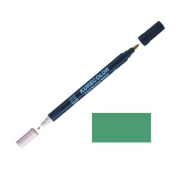 Zig Kurecolor Manga Cartoonist Fine & Brush Dual-Tip Marker Emerald Green