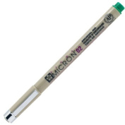 Sakura Pigma Micron Pen 02 (.30mm) Green