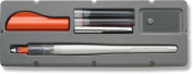 Pilot Parallel Pen 2-Colour Calligraphy Pen Set, with Red and Blue Ink Cartridges, 1.5mm Nib