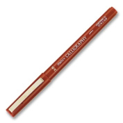 UCH6000MS28 - Calligraphy Marker, Medium Point, 3.5mm, Burgundy