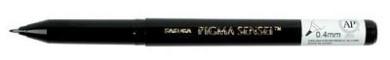 Sakura Pigma Sensei Pens .04 mm durable plastic tip black