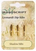 Manuscript Leonardt 3pc Ink Dip Pen Nib Set - Shadow