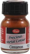 Viva Decor Precious Metal Colour 25ml/Pkg-Cinnamon