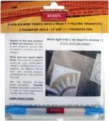 Bohin Transfer Veil And Pen Set-