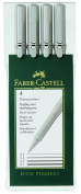 Faber-Castell 0.1mm/ 0.3mm/ 0.5mm/ 0.7mm Artline Drawing System - Black (Wall...