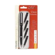 Manuscript Classic Calligraphy Cartridge Pen 5 Nib Set Left Handed