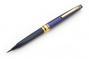 Kaimei Natural Weasel Hair Sumi Brush Pen - Blue Body