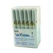 Uchida of America 3000SET24C 24-Piece Le Plume Permanent Alcohol Based Ink Pen Set, Blending