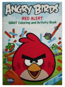 """Angry Birds 96 Page Colouring & Activity Book """"Red Alert"""""""