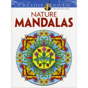 Nature Mandalas Colouring Book