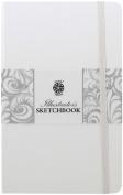 Pentalic Illustrators Sketchbook, 20cm by 13cm , White Chocolate