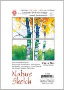 Pentalic Nature Sketch Pad, 18cm by 13cm