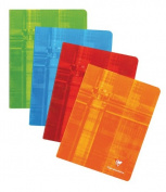 Clairefontaine Classic Staple-Bound Notebooks ruled 15cm . x 21cm . 48 sheets