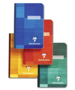 Clairefontaine Cloth-bound Notebooks 9.5cm . x 14cm . ruled 96 sheets