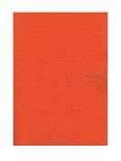 Fabriano EcoQua Notebooks staplebound blank orange 21cm x 30cm .