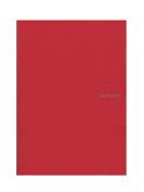 Fabriano EcoQua Notebooks staplebound blank raspberry 21cm x 30cm .
