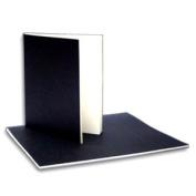 Soft Bound Sketch Book- Black Cover 20cm x 23cm