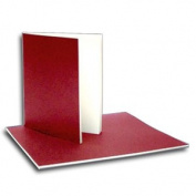 Soft Cover Sketch Book- Red Cover 20cm x 23cm