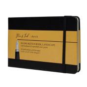 Pen & Ink Notebook 5.5X3.5Ls Blank Med Wt