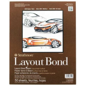 Strathmore 411 Layout Bond 50 Sheets 11x14