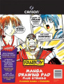 Canson Fanboy Manga Drawing Pad with Stencils