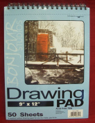 Artist's 23cm by 30cm Drawing Pad by Bonjour Studios