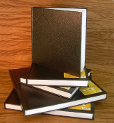 Black Cover Hard Bound Sketch Book- 18cm x 18cm Square