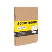 Scout Books DIY Blank Notebook 3 Pack