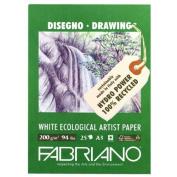 Fabriano Ecowhite Drawing Pad 30cm X 42cm